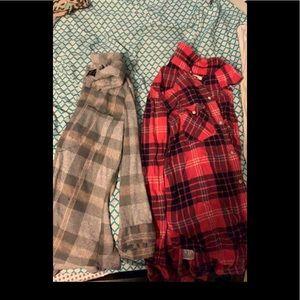 cute fall flannels!